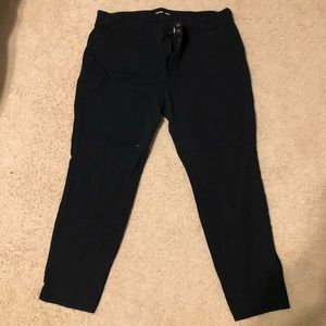 Black old navy pixie pants